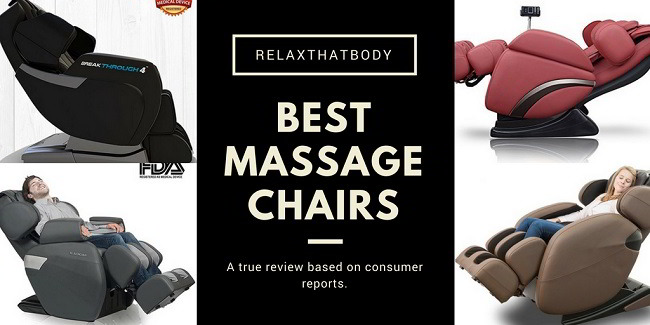 10 Best Massage Chairs by Consumer Reports: Full Body, Zero Gravity and More